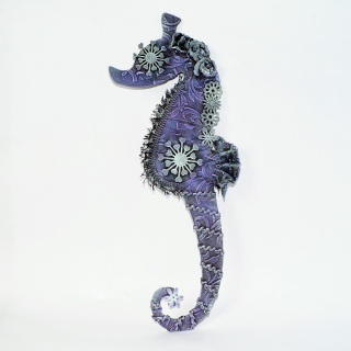 Powertex seahorse project for beginners