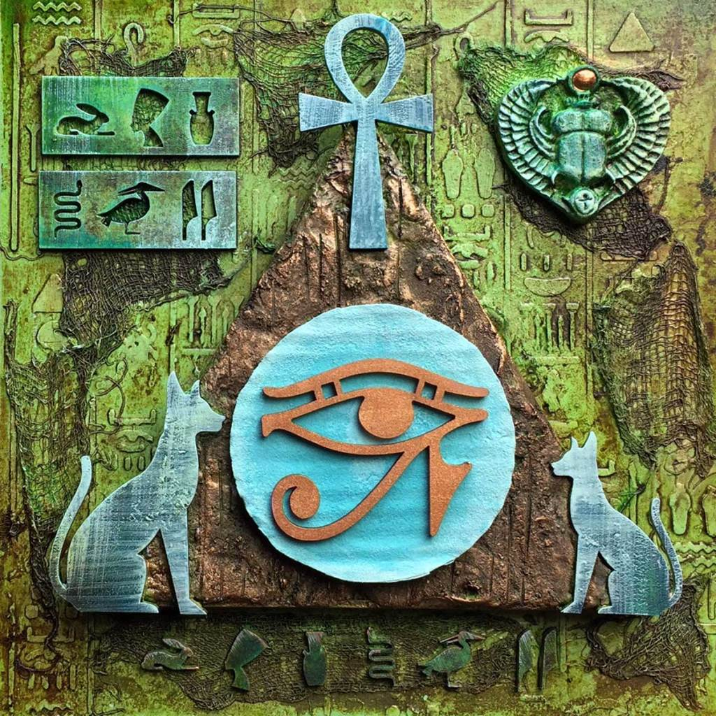 Powertex Egyptian Art by Kore Sage