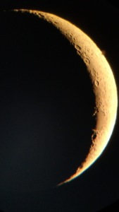 3 day old moon Powertex inspiration