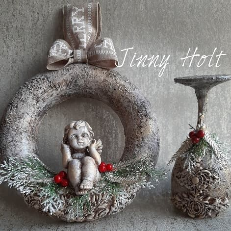 Christmas decoration - a wonderful time of the year by Jinny Holt
