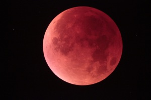 Lunar eclipse Powertex inspiration
