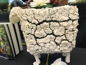 Sheep sculpture with Easy 3D Flex by Annette Smyth