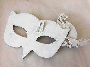 Powertex hanging hook for venetian mask wall art
