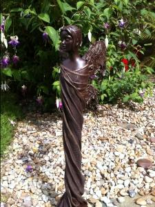Annette Smyth Figure statue with Powertex