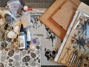 Powertex UK Secret Art Box subscription box October 2019