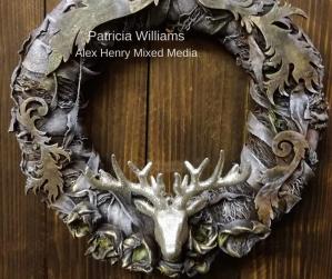 Patricia Williams Powertex Wreath
