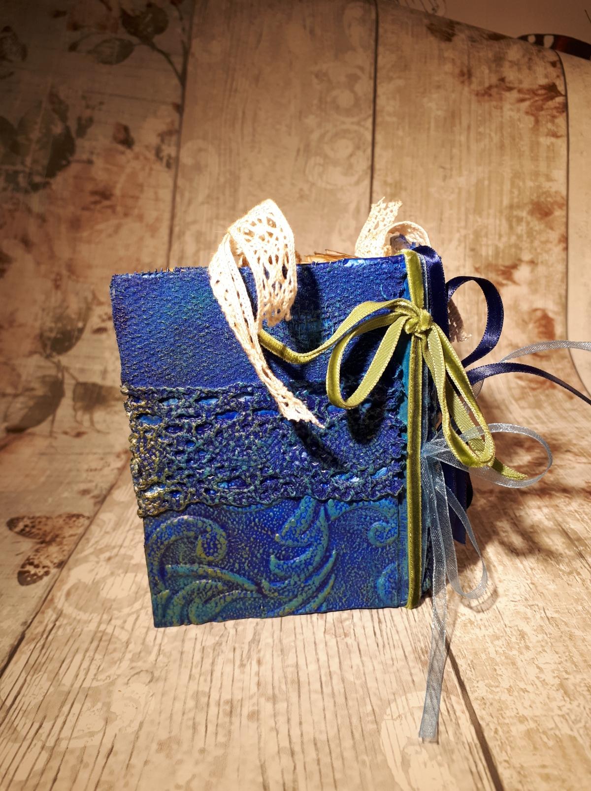 Blue Powertex journal