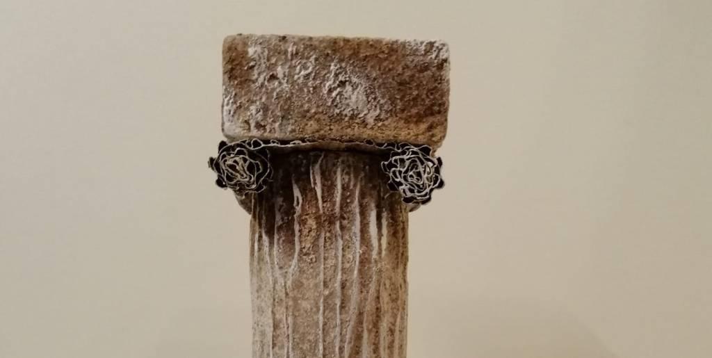 Roman Column with Powertex by Patricia Williams Alex Henry