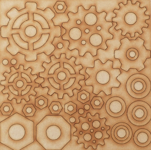 Powertex UK MDF cogs and washers