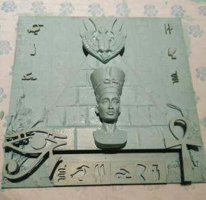 Fresh mint Powertex from the Secret Art Box Egyptian