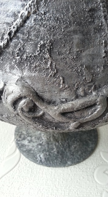 Close up of Roman Chalice with Powertex