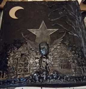 Powertex altered gothic fantasy pram makeover