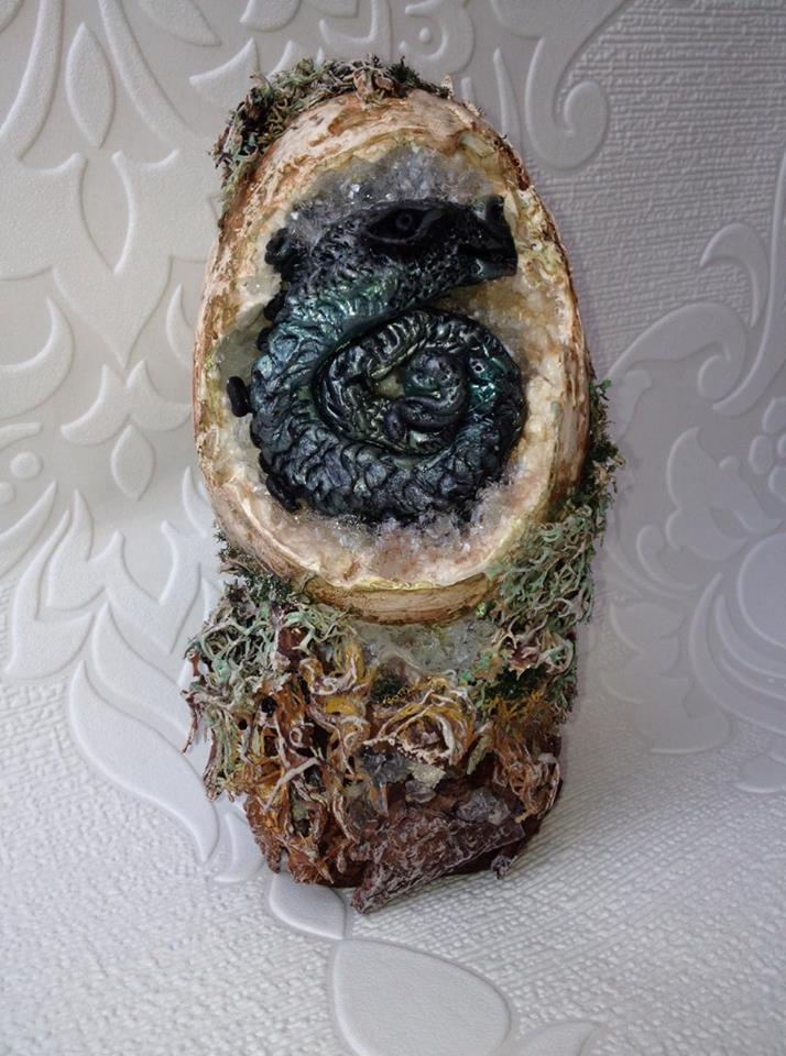 Powertex Dragon Easter Eggs