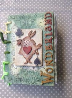 Powertex Wonderland journal by Anna Emelia Howlett