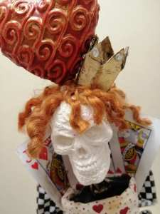 Powertex queen of hearts by Patricia Williams