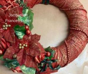 Jacqueline Frances Butler Powertex Wreath