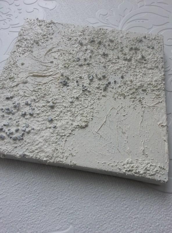 Powertex textured canvas