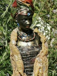 Masai figure by Gill Goldsmith
