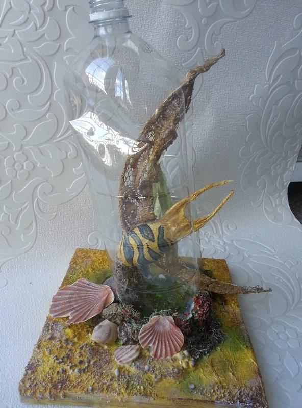 Ugly Ocean Fish Sculpture