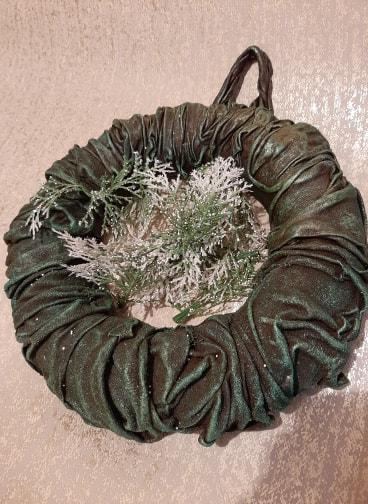 Wonderful Powertex Wreath by Jinny Holt