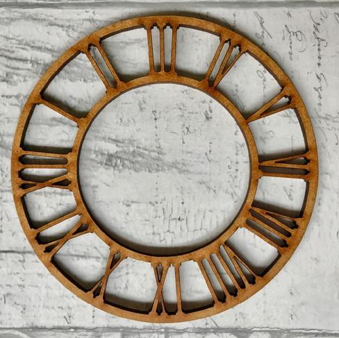 Powertex UK  Roman Numeral Clock MDF