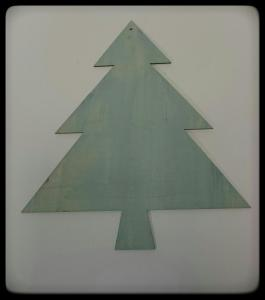Powertex nostalgic Christmas tree by Donna Mcghie - A Winter's Tale