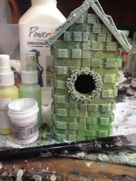 Powertex Bird house